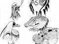 Животные тела